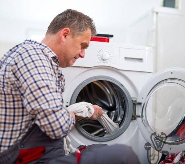 تعمیر ماشین لباسشویی باکنشت