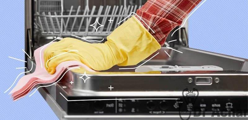 دلیل تمیز کردن ماشین ظرفشویی و ماشین لباسشویی